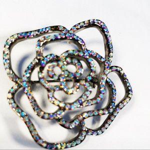 3for $25 Bling Rose Brooch Pin